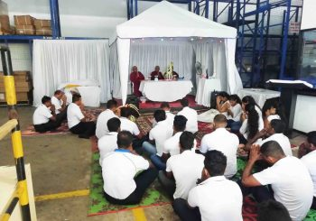 Religious Ceremonies Held To Bestow Blessings On 25th Anniversary of SLFFACS